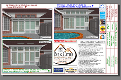Sample Sunroom Design Layout-CAD Drawings-Architectural drawings