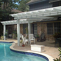 attached Arbor-Shade Cover