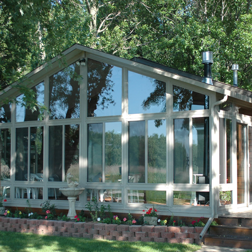 Image of Custom Gabled Sunroom Design