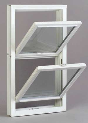 Vinyl Window w/ tilt-in sash-Double Hung